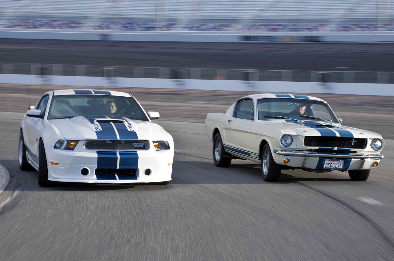 and the 1965 Shelby GT350